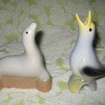 Seal & Blue Bird Vintage Pie Vents