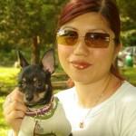 Stella & Mommy at Gedney Park