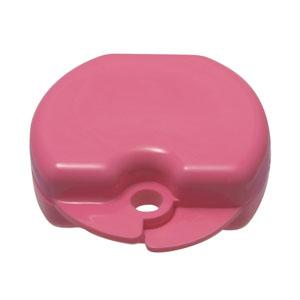 smile shop bubblegum scentd pink retainer hard case
