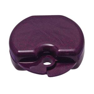 smile shop sparkle purple retainer hard case