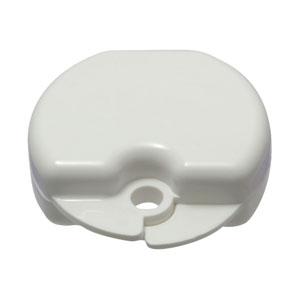 smile shop vanilla scented white retainer hard case