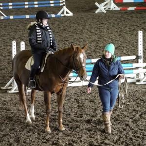 Angela & horse Jewel